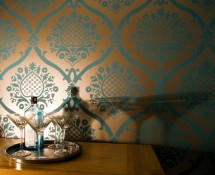 Rocaile wallpaper by Designer's Guild