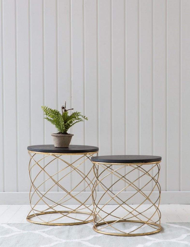 Side Tables - Image Rose & Grey