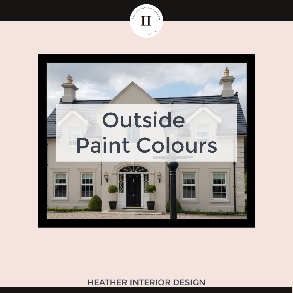 how to choose outside paint colours