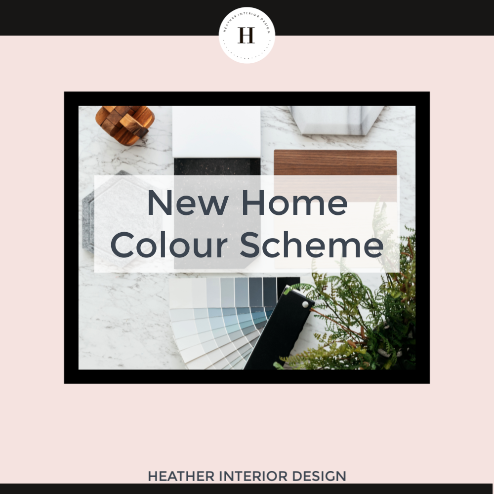 new home colour scheme